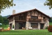 Casas de entramado de madera o canadiense
